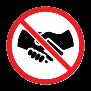 Geen Handen Schudden